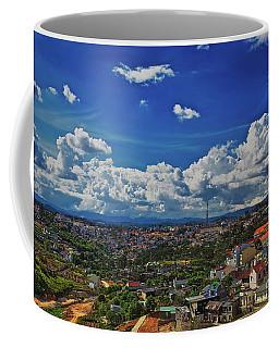 Coffee Mug featuring the photograph A Bit Of Disneyland In Dalat, Vietnam, Southeast Asia by Sam Antonio Photography
