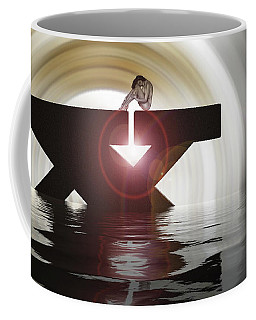A Blind Person Who Sees Is Better Than A Seeing Person Who Is Blind Coffee Mug by Sir Josef - Social Critic -  Maha Art