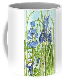 A Blue Garden Coffee Mug