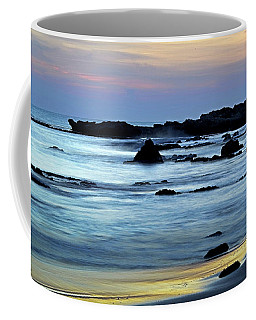 A Blue Sunset At Tantura Beach 02 Coffee Mug