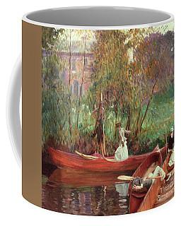 A Boating Party  Coffee Mug