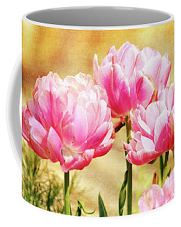 A Bouquet Of Tulips Coffee Mug by Trina Ansel