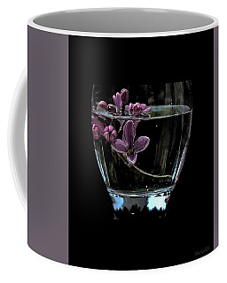 A Bowl Of Lilacs Coffee Mug by Marija Djedovic