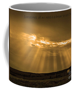 A Break Coffee Mug