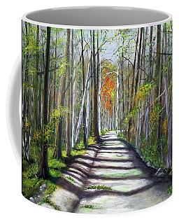 A Bright Autumn Day  Coffee Mug