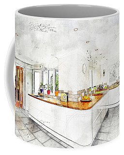 A Bright White Kitchen Coffee Mug
