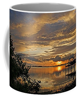 Coffee Mug featuring the photograph A Brooding Sunset Sky by HH Photography of Florida