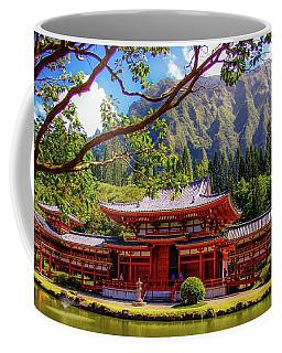 Buddhist Temple - Oahu, Hawaii - Coffee Mug