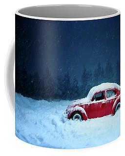 A Bug In The Snow Coffee Mug