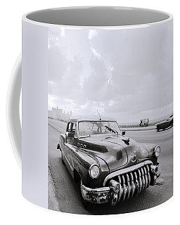 A Buick Car Coffee Mug by Shaun Higson