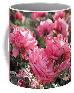 Coffee Mug featuring the photograph A Bunch Of Pink by Laurel Powell