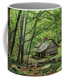 A Cabin In The Woods Coffee Mug