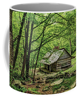 A Cabin In The Woods Coffee Mug