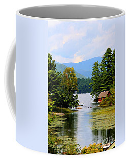 Coffee Mug featuring the photograph A Calm Day by Adrian LaRoque