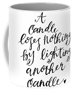 A Candle Coffee Mug