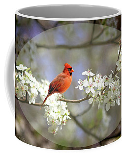 A Cardinal In A Pear Tree 2 Coffee Mug