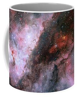 Coffee Mug featuring the photograph A Carina Nebula Pano by Nasa