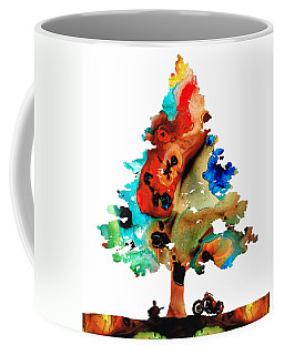 A Certain Kind Of Freedom - Guitar Motorcycle Art Print Coffee Mug