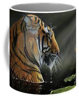 Coffee Mug featuring the digital art A Chance Encounter II by Don Olea