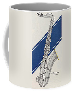 A Charles Gerard Conn Bb Tenor Coffee Mug
