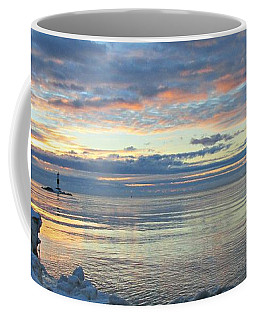 A Chilly View Coffee Mug by Greta Larson Photography