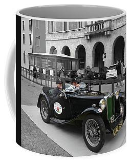 A Classic Vintage British Mg Car Coffee Mug