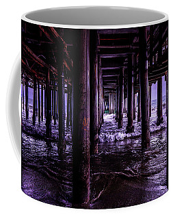 A Cloudy Day Under The Pier Coffee Mug
