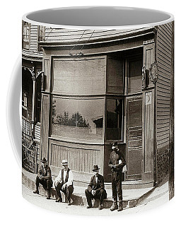 A Coal Miners Bar  George Ave Parsons Pennsylvania Early 1900s Coffee Mug