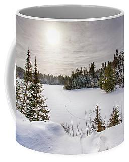A Cold Algonquin Winters Days  Coffee Mug