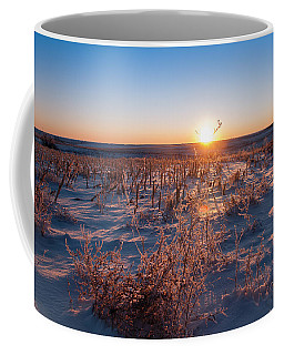 Coffee Mug featuring the photograph A Cold December Morning by Monte Stevens