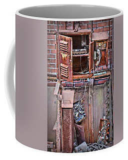 Coffee Mug featuring the photograph A Collaboration Of Rust by DJ Florek