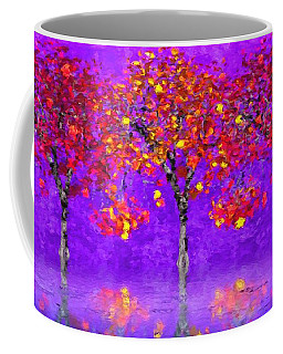 A Colorful Autumn Rainy Day Coffee Mug