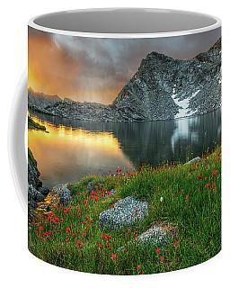A Colorful Mountain Morning Coffee Mug