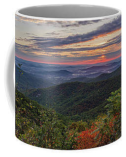 Coffee Mug featuring the photograph A Colorful Sunrise by Lori Coleman