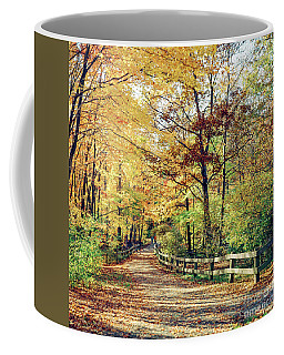 A Colorful Walk Coffee Mug