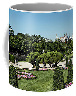 Colorfull El Retiro Park Coffee Mug