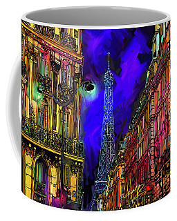 A Corner In Paris Coffee Mug