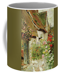 A Cottage Door Coffee Mug