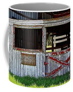 A Country Scene Coffee Mug