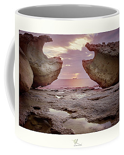 A Crab Stone, By The Cosmic Joker Coffee Mug