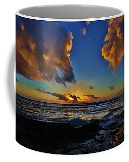 A Dali Like Sunset Coffee Mug by Craig Wood