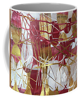 A Dance Of Rubies And Old Gold Coffee Mug