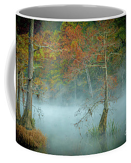 A Dancing Cypress Coffee Mug by Iris Greenwell