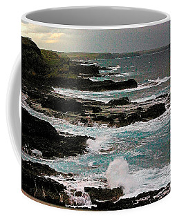 A Dangerous Coastline Coffee Mug