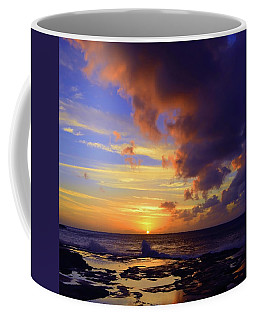 Coffee Mug featuring the photograph A Dark Cloud Among Colour by Tara Turner