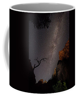 A Dark Night In Zion Canyon Coffee Mug