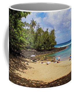 A Day At Ke'e Beach Coffee Mug