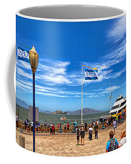 Coffee Mug featuring the photograph A Day At Pier 39 by John M Bailey