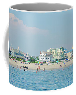 Coffee Mug featuring the photograph A Day At The Beach - Cape May New Jesey by Bill Cannon