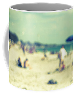Coffee Mug featuring the photograph a day at the beach I by Hannes Cmarits